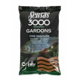 SENSAS  3000 ZANĘTA GARDONS FINE MOUTURE 1KG.
