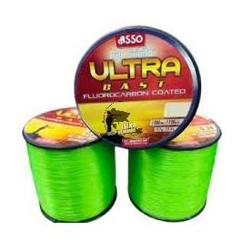 ASSO ULTRA CAST 0.39mm/1000m ZIELONA FLUO