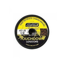 D-MAD TOUCHDOWN LEAD CORE, CAMOU WEED
