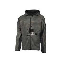 MAD ZIP HOODIE CAMOVISION GREEN XL 64529