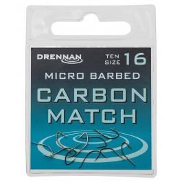 Drennan Carbone Match Haczyki 10szt. Nr18