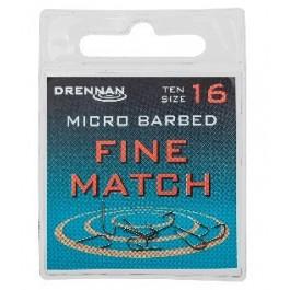 Drennan Fine Match Haczyki 10szt. Nr18