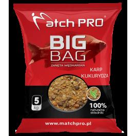MatchPro BIG BAG KARP KUKURYDZA Zanęta 5kg