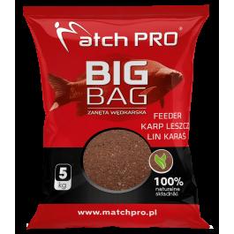 Matchpro BIG BAG FEEDER KARP LESZCZ LIN KARAŚ Zanęta 5kg