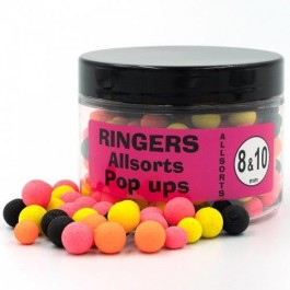 Ringers Allsorts Popup Boilies 8mm & 10mm.