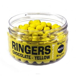 Ringers Choclolate Yellow Mini Wafters