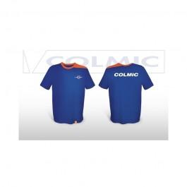 Colmic T-SHIRT BLUE- ORANGE XXL