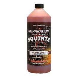 STARBAITS  SQUIRTZ  INDIAN  SPICE  PREP  X  BOOSTER 1L