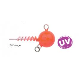 SPRO SPIRALHEAD UV ORANGE 10g. 4628-410