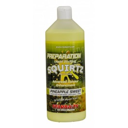 STARBAITS  SQUIRTZ  PINEAPPLE  SWEET PREP X BOOSTER 1L